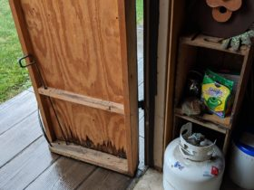 New Shed Doors