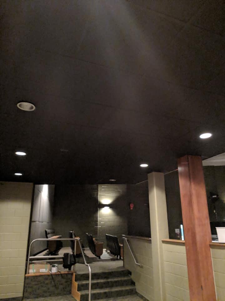 New ceiling at Lakeshore Catholic
